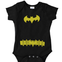BATMAN COSTUME ONSIE FUNNY BABY Onesuit CUTE BABY STUFF BABY CLOTHES CUSTOM BABY CLOTHES TODDLERS BABY GIFTS BABY SHOWER