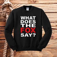 What Does The Fox Say sweater unisex adults