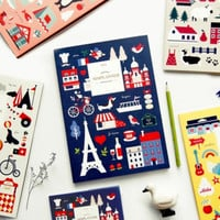 2015 Large Pattern Monthly Planner