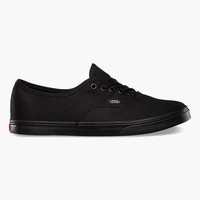 Vans Authentic Lo Pro Girls Shoes Black/Black  In Sizes