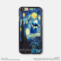 Doctor Who Starry Night Free Shipping iPhone 6 6Plus case iPhone 5s case iPhone 5C case iPhone 4 4S case Samsung galaxy Note 2 Note 3 Note 4 S3 S4 S5 case 255