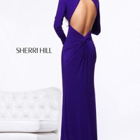 Sherri Hill Dress 21126 at Peaches Boutique
