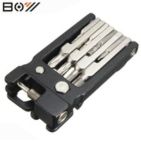 BOY Bicycle Multi-function Tools High Quality 19 in 1 Hex Key Screwdriver Wrenc hBike Tools Multi Repair Tool Kit Set parts