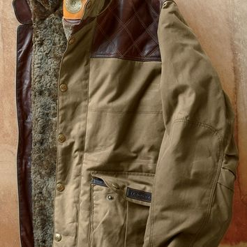 Waxed Cotton Trapper Jacket | J.L. Powell