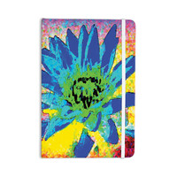 "Anne LaBrie ""Wild Lotus"" Blue Flower Everything Notebook"