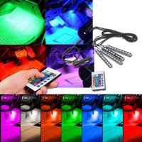 LED light colorful for car with remove - 16 colors - 7 mode