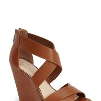 "Women's Jessica Simpson 'Jadyn' Strappy Wedge Sandal, 4 1/4"" heel"
