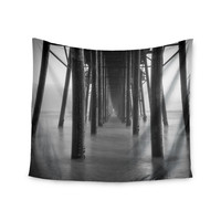 "Juan Paolo ""Vanishing Point"" Coastal Photography Wall Tapestry"