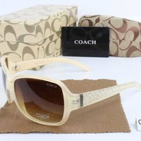 COACH Men and Women Casual Popular Summer Sun Shades Eyeglasses Glasses Sunglasses