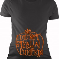 Pumpkin Stealing Shirt | Maternity Halloween Shirt