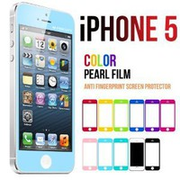 Amazon.com: Mercury Color Screen Protector for Apple iPhone 5 (Light Blue): Cell Phones & Accessories