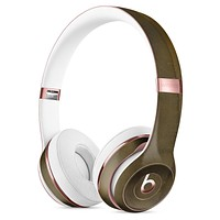 Micro Golden Covers Full-Body Skin Kit for the Beats by Dre Solo 3 Wireless Headphones