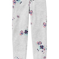 Old Navy Girls Floral Sweatpants