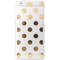 Kate Spade New York Le Pavillion iPhone 6 / 6s Case, Clear/Gold, iPhone 6