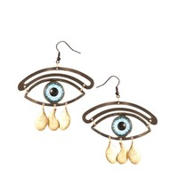 Cheap Monday Eye Earrings