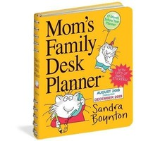 Moms Family Planner, Family Organizer by Workman Publishing