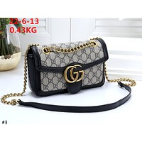 GUCCI tide brand women's simple and versatile chain bag department wild retro shoulder bag #3