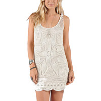 Volcom Dwell Dress - Women's Cream,