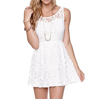 Kirra Silvias Lace Sweeheart Dress at PacSun.com