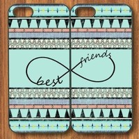 Apple iphone 5C Aztec andes maya Tribal Infinity Sign Best Friends BFF Snap On hard Cover Case printed HD pattern unique logo protector bumper DIY Personalized portrait customized cover back shell creative gift ultra-thin best Quality Limited Edition by iS