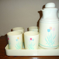 Kitsch Drinkware / Serveware Tray Set
