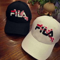 '' FILA '' Embroidered Baseball Cap Hat
