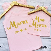 Mommy and Me Outfit, Mama and Mini Mama