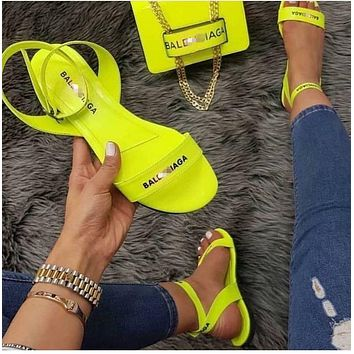 Summer new style female sandals fashion slippers flat shoes