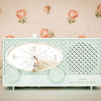 Fine Art Print of Vintage Admiral Radio - Matte or Lustre Paper - 8 x  12 with with border