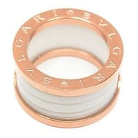 Bvlgari Woman Fashion Plated Ring For Best Gift