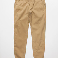 Element Yogger Mens Jogger Pants Dark Khaki  In Sizes