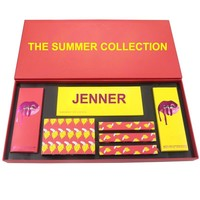 Summer Collection Set Jenner Makeup Bundle Matte Lipstick Lip Gloss Maquiagem Eyeshadow Palette Profesional Paleta De Sombras