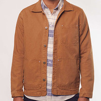 Marine Layer | CANVAS JACKET (CAMEL)