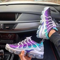 Nike Air Vapormax Plus Triple Fashion Women Men Sport Running Shoes Sneakers