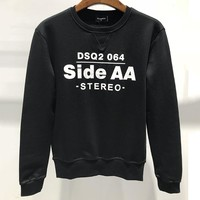 Dsquared2 SKI Fashion Round Neck Long Sleeve Top Sweater Pullover
