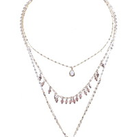 Nakamol Design 3-Layer Teardrop Necklace | Nordstrom