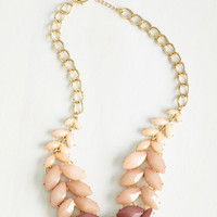 Statement Berry Good Harvest Necklace in Blush by ModCloth