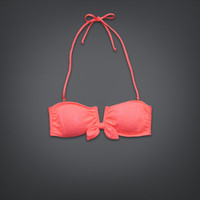 Lightly Lined V-Wire Swim Top