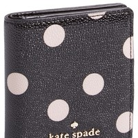 Women's kate spade new york 'cedar street dot - small stacy' wallet - Black