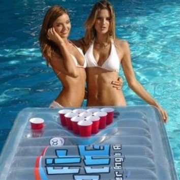 The Air Pong Table - The Portable, Inflatable Beer Pong Table:Amazon:Sports & Outdoors