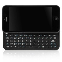 BoxWave Keyboard Buddy iPhone 5 Case - Backlit Edition - Bluetooth Keyboard Case with Integrated Ap