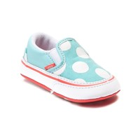 Crib Vans Polka Dot Slip On Skate Shoe