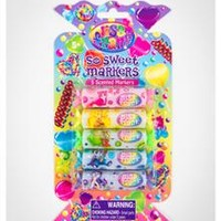 Lisa Frank Candy Scented Markers 5 Pk