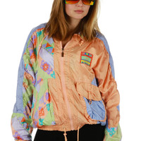Mrs. Peaches Pastel Print Jacket