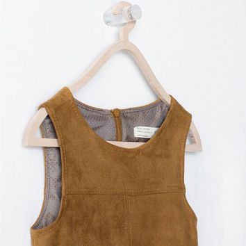 Pinafore with pockets