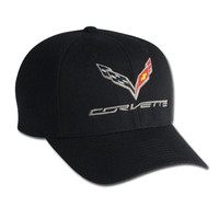 C7 Corvette Logo Flex Fit Pro Performance Cap L-XL