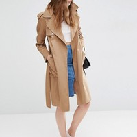 ASOS Trench with Split Back at asos.com