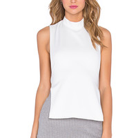 RISE New Flame Highneck Backless Bib in White