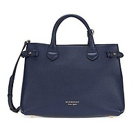 Burberry Women's Medium Banner in and House Check Print Blue