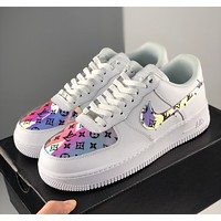Nike Air Force 1 Low x LV low-top all-match casual sneakers